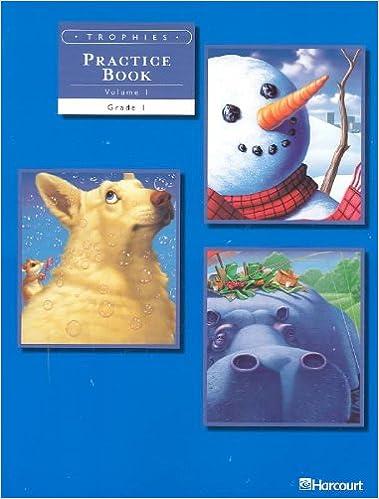 Trophies: Practice Book, Volume 1 Grade 1: HARCOURT SCHOOL ...