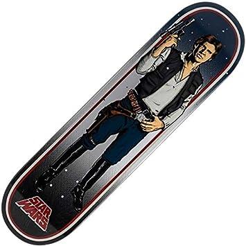 6e059711016831 Santa Cruz Star Wars Han Solo Skateboard Deck