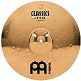 Meinl 14'' Medium Crash Cymbal  -  Classics Custom Brilliant - Made in Germany, 2-YEAR WARRANTY (CC14MC-B)