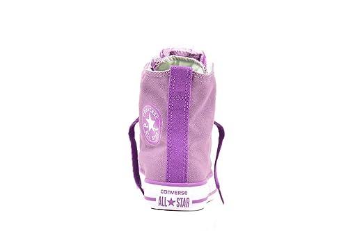 8407cccc97 Converse Junior CT Party Hallo DUS 650048C Turnschuhe Dusty Lilac UK 10   Amazon.de  Schuhe   Handtaschen