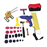 Dovewill Multi-function PDR Paintless Dent Repair Tool Set for Car body Maintenance