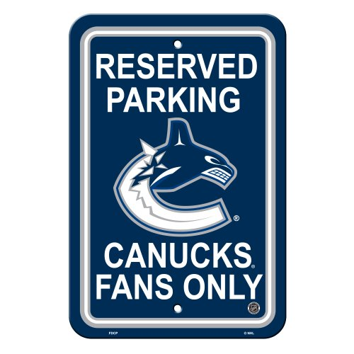 The Hockey Shop Vancouver - NHL Vancouver Canucks Reserved Parking Sign, 12