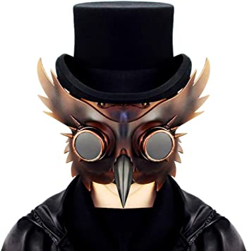 Máscara de Doctor Plaga Steampunk CY