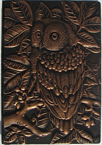 OWL Embossed Leather Journal ( Engraved Leather Journal ), size A5, 8.5 X 5.7 inch, an Antique Journal, Vintage Leather Journal, or Embossed Diary is a Embossed Notebook