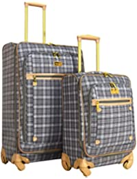 "Taylor 2-Piece Luggage Set: 28"" and 20"" Expandable Spinners"