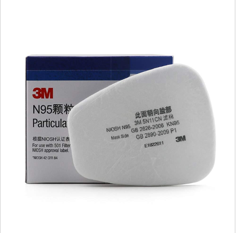 10 piezas de algodón a prueba de polvo 3m-6200, accesorios de red de polvo, adecuados para equipos de protección de la serie 3m-6000 501 6200 7502 6800