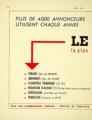 1956-lithograph-french-ad-le-figaro-service-de-publicite-paris-advertising-vena5-original-lithograph