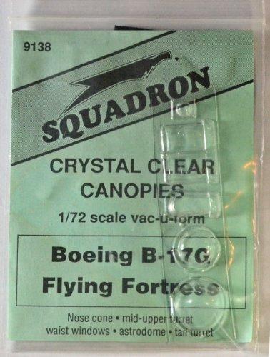 Squadron B-17G Clear Aircraft Canopy #2 SQ9138