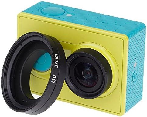 Xiaoyi Sport Camera Durable 37mm UV Filter Lens Filter with Cap for Xiaomi Xiaoyi 4K Xiaoyi Lite //4K