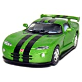 "5"" Dodge Viper GTR-S 1:36 Scale (Green/Black Stripes)"