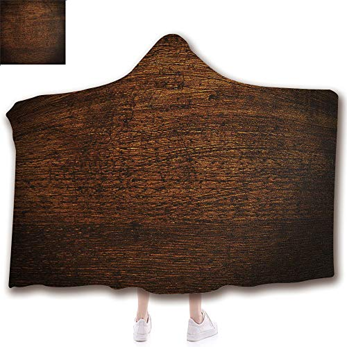 Fashion Blanket Ancient China Decorations Blanket Wearable Hooded Blanket,Unisex Swaddle Blankets for Babies Newborn by,Timber Oak Background Rustic Floor Artisan Photo,Adult Style Children Style