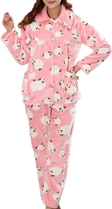 Casual Pijama Serie de Calentamiento Ropa de Dormir Ropa ...