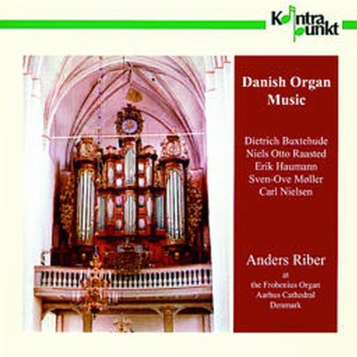 ANDERS RIBER DANISH ORGAN MUSIC Other Solo Instrum.