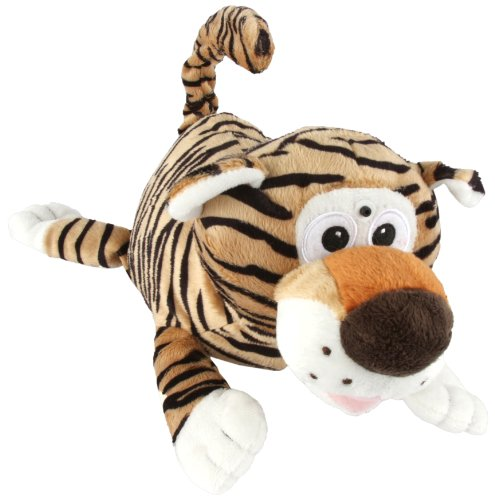 Chuckle Buddies Tiger Electronic (Laughing Plush Toy)