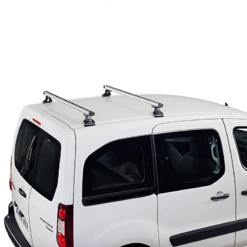 Sistema de 2 Barras 2003 hasta la Fecha Cruz Barras Techo para Volkswagen Multivan T5/ de Aluminio Resistentes