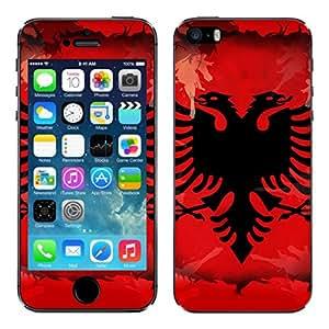 "Motivos Disagu Design Skin para Apple iPhone 5S: ""Albanien"""