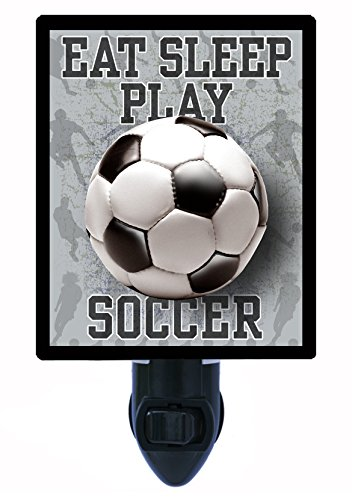 Night Light - Eat, Sleep, Play Soccer - Sports by Night Light Designs