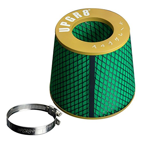 - Upgr8 Universal Super High Dry Flow Air Filter Intake Cone (2.75