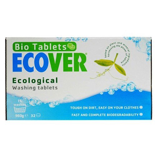 (4 PACK) - Ecover - Laundry Tablets | 32's | 4 PACK BUNDLE by ECOVER (UK)