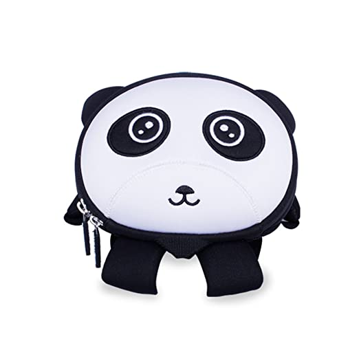 Nohoo 3D Panda Kids Backpack Cartoon Children Panda Schoolbag 8380903d567da