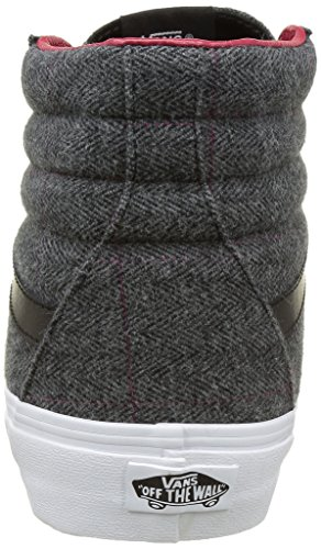 Mixte hi Noir Adulte Baskets tweed Basses Vans Sk8 IA5wqx4nz