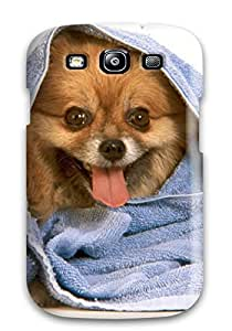 First Class Case Cover For Galaxy S3 Dual Protection Cover Dogs S