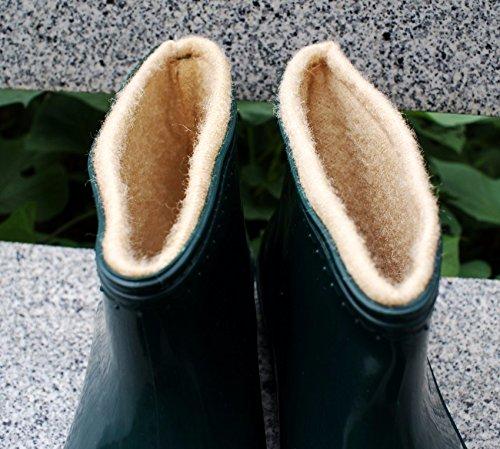 El antideslizantes y de ayuda invierno lavado a baja cocina siete Zapatos dama y añadir lluvia frío botas Treinta agua de Treinta cabello de caliente ocho y botas rrqCv