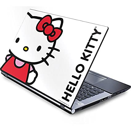 e41e86261 Skinit Hello Kitty Classic White Generic 12in Laptop (10.6in X 8.3in) Skin
