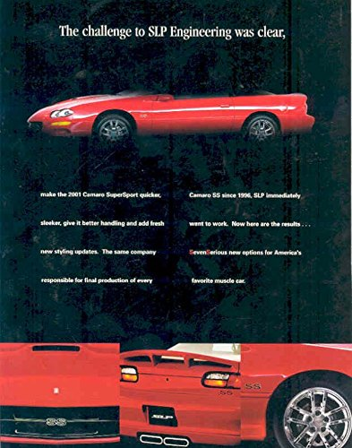 2001 Chevrolet Camaro SS SLP Convertible (Camaro Sales Brochure)