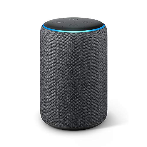 Echo Plus (2da generación) - Sonido de alta calidad y hub de Casa Inteligente integrado, negro
