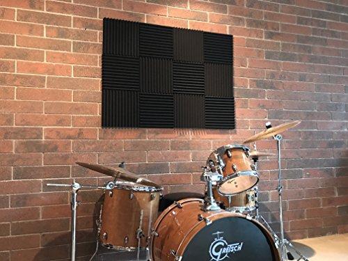 Acoustic Foam Panels Drum Wall