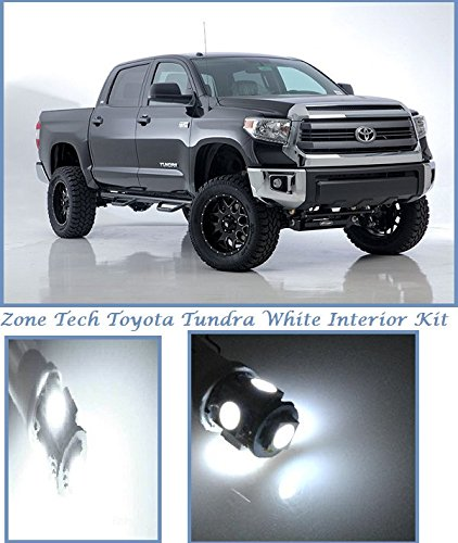 Amazon Com Classy Autos Toyota Tundra White Interior Led Package