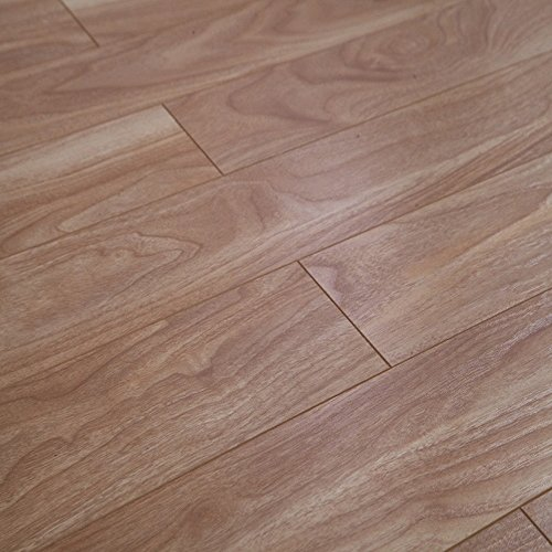 - Dekorman Natural Walnut #1235H 12 mm Thick x 4.96 in. Wide x 48 in. Length Click-Locking Laminate Flooring Planks (16.48 sq. ft. / case), Brown