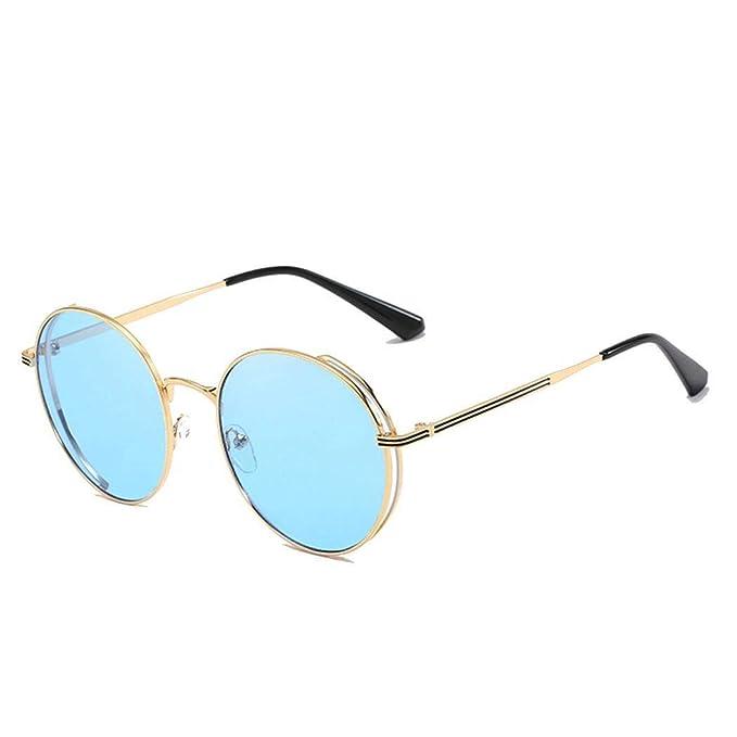 Fuolee Gafas de sol estilo retro para mujer Gafas de sol con ...