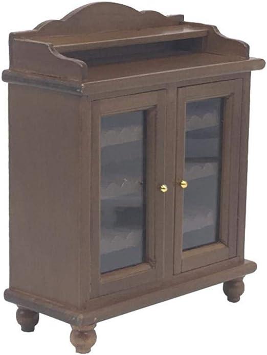 Dollhouse Furniture Bathroom 2 Colors Towel Cabinet Rack 1:12 Miniature Decor