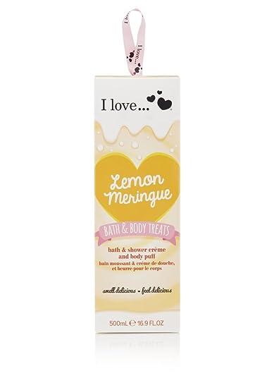bath body treats lemon meringue christmas gift set