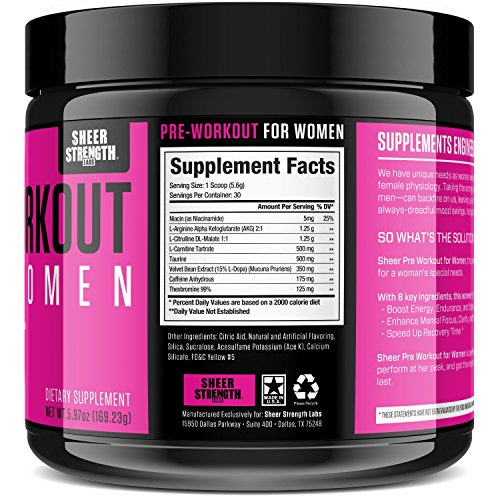 Buy pre workout drink for females