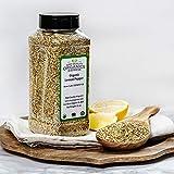 HQOExpress | Organic Lemon Pepper Seasoning and Rub | 21 oz. Chef Jar