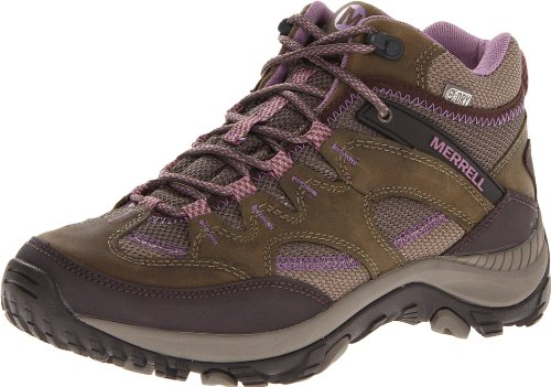 Amazon.com | Merrell Women's Salida Mid Waterproof Hiking Boot ...