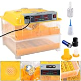 96 Digital Egg Incubator Hatcher Temperature Control Automatic Turning Chicken:New