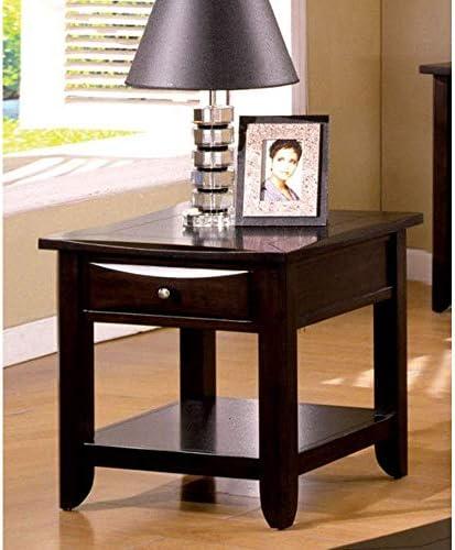 Granvia Dark Cherry End Table