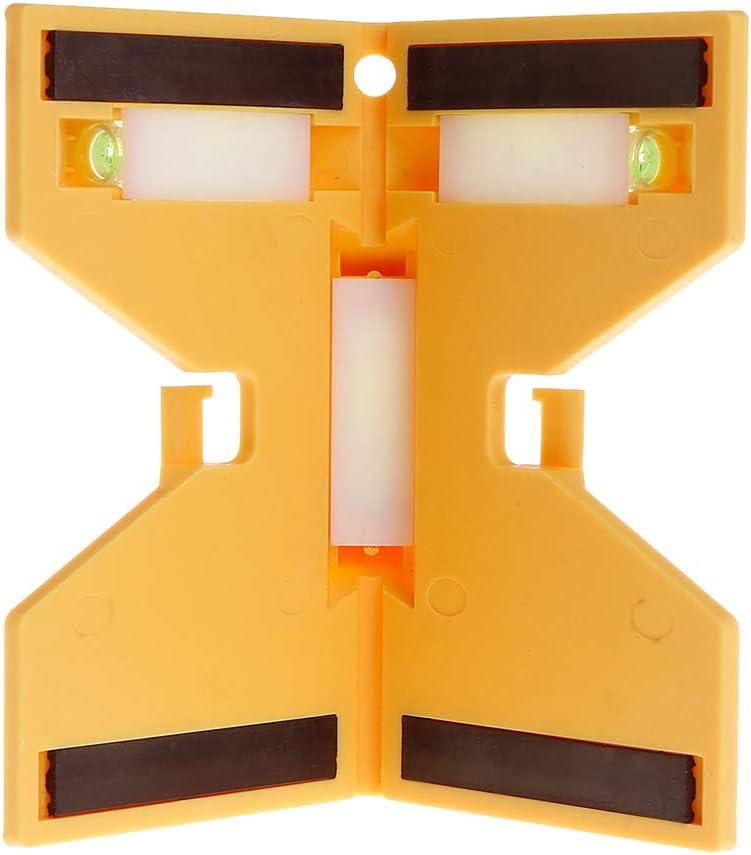 BIlinli Zylinder Magnetic Level Pipeline Spirit Bubble f/ür Pipe Wooden Pillar Installation