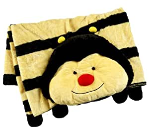Stuffed Animal Pillow Blanket : Amazon.com: My Pillow Pets Plush Blanket: Bumblebee: Toys & Games
