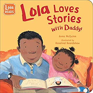 Book Cover: Lola Loves Stories with Daddy