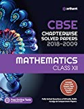 CBSE Chapterwise Solved Paper Mathematics Class 12th