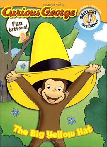 Amazoncom The Big Yellow Hat Curious George 9781416933786