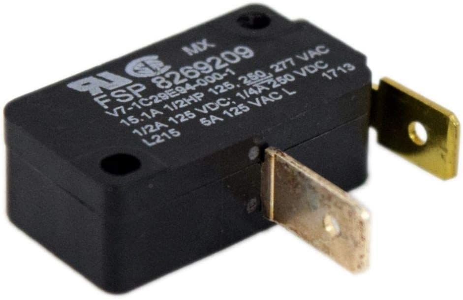 Whirlpool W8269209 Dishwasher Door Switch Genuine Original Equipment Manufacturer (OEM) Part