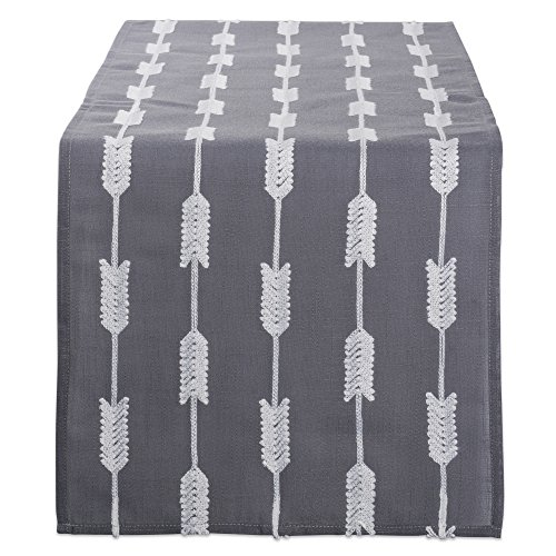 - DII Polyester Embroidered Table Runner for Spring Garden Party, Summer BBQ, Baby Showers and Everyday Use - 14x70