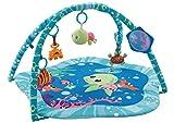 EMILYSTORES Princess Prince Baby Activity Play Gym Mats Ocean Park 30''x30''