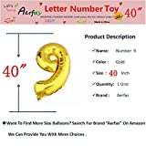 Aerfas 40 inch Gold Number